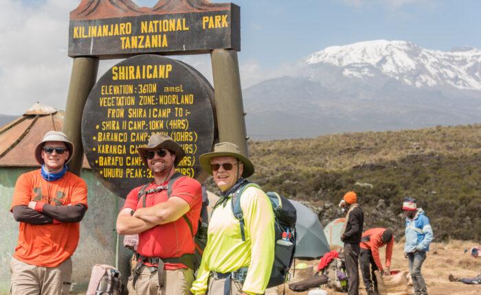 Kilimanjaro climbing - Machame Route 7 days Itinerary