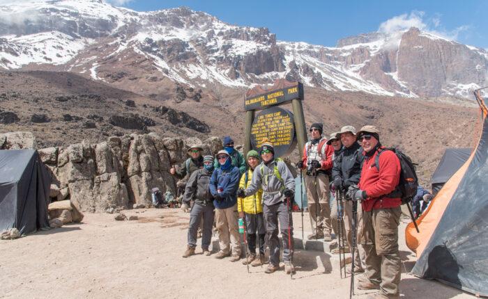 Kilimanjaro climbing - Machame Route 6 days Itinerary